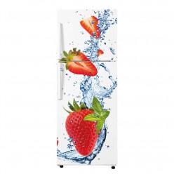 Stickers Frigo - fraises 5