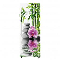 Stickers Frigo - Galets fleur 4