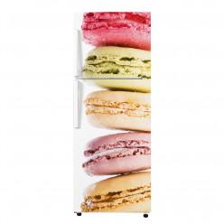 Stickers Frigo - Macarons 2