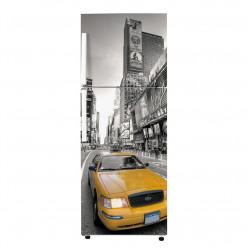 Stickers Frigo - New york Taxi 2