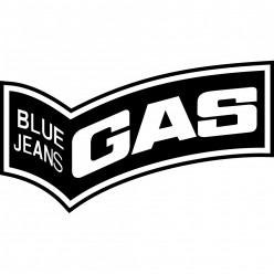 Stickers gas blue jeans