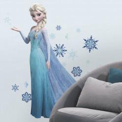 Stickers géant Elsa La Reine des Neiges Disney