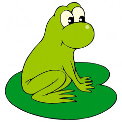 Stickers Grenouille