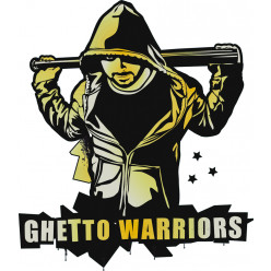 Stickers guetto warriors