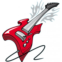 Stickers guitare