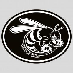 Stickers honda hornet frelon