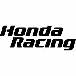 Stickers honda racing