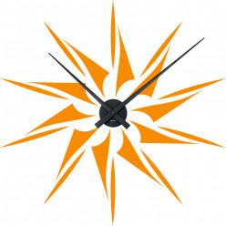 Stickers Horloge etoile