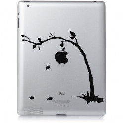 Stickers ipad 2 arbre