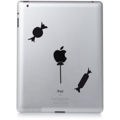 Stickers ipad 2 friandises