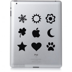 Stickers ipad 2 motifs