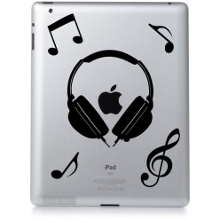 Stickers ipad 2 music