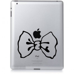 Stickers ipad 2 noeud papillon