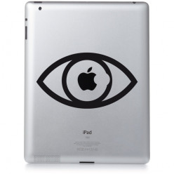 Stickers ipad 2 oeil