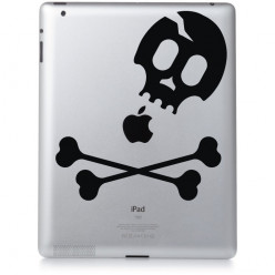 Stickers ipad 2 skull