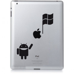 Stickers ipad 3 Atari Win Vs Apple