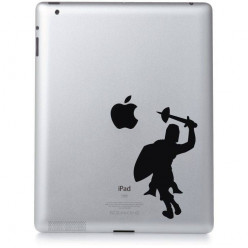 Stickers ipad 3 knight