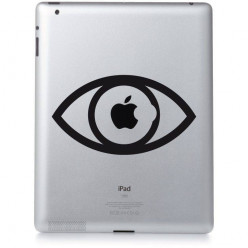 Stickers ipad 3 oeil