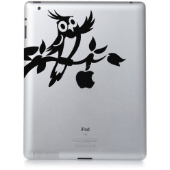 Stickers ipad 3 oiseau