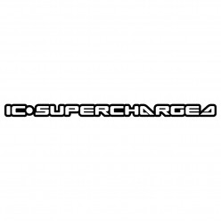 Stickers jet ski IC SUPERCHARGED