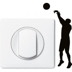 Stickers joueur de basket pour prise et interrupteur