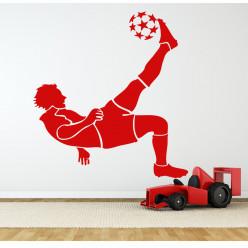 Stickers joueur foot