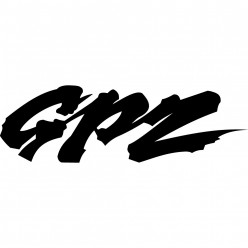 Stickers kawasaki gpz