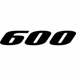 Stickers kawasaki gpz 600