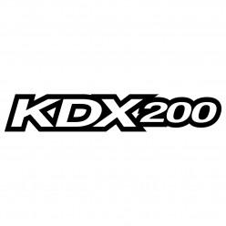 Stickers kawasaki kdx200