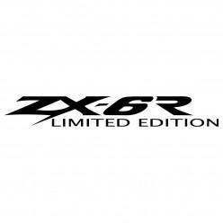 Stickers kawasaki zx-6r limited edition