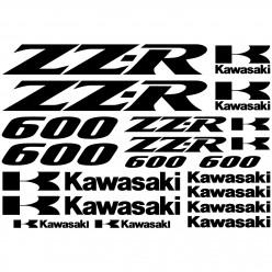 Stickers Kawasaki zz-r 600