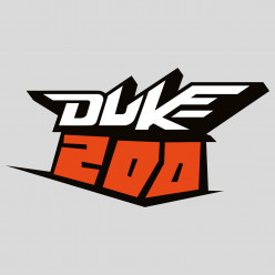 Stickers ktm duke 200