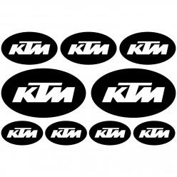 Stickers Ktm Ovale