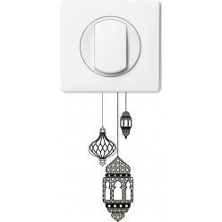Stickers lanternes pour prise et interrupteur