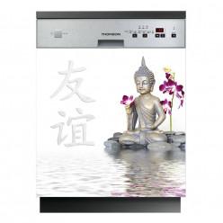 Stickers lave vaisselle bouddha