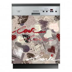 Stickers lave vaisselle love