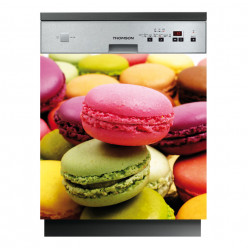 Stickers lave vaisselle macarons