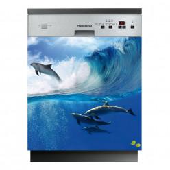 Stickers lave vaisselle océan