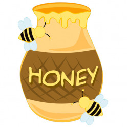 Stickers miel abeilles