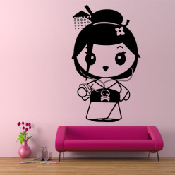 Stickers Mini Geisha