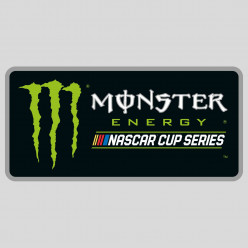 Stickers monster energy nascar cup series