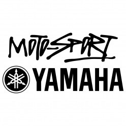 Stickers motosport yamaha