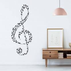 Stickers notes de musique