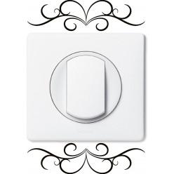Stickers ornement pour prise et interrupteur