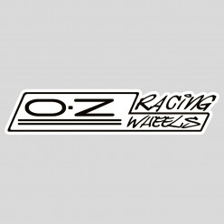 Stickers OZ racing wheels