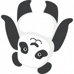 Stickers panda