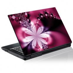 Stickers PC Fleur Graphique