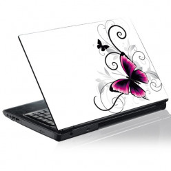 Stickers PC Papillons