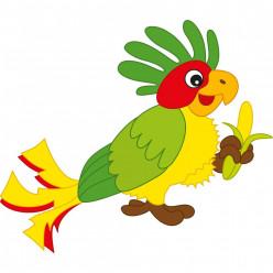 Stickers perroquet