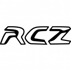 Stickers peugeot RCZ
